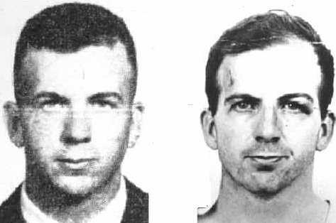 Mug Shot Supposedly showing two different Oswalds
